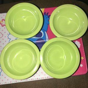 Melamime pinch bowls set of 4 Preloved